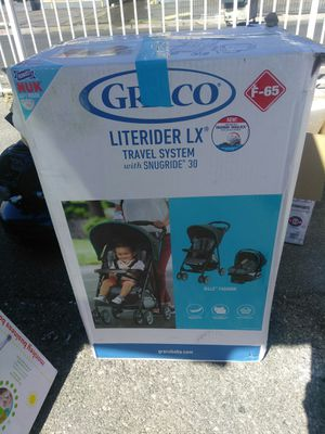Stroller and INFANT car seat and Base New Inbox open Nuevo en caja abierta location Maryland between Eastern for Sale in Las Vegas, NV