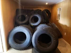 We tires and parts for heavy equipment trucks and trailer . for Sale in Hutto, TX