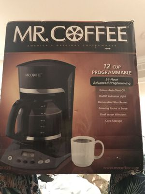 Mr Coffee Maker - 12 Cup for Sale in Fairfax, VA
