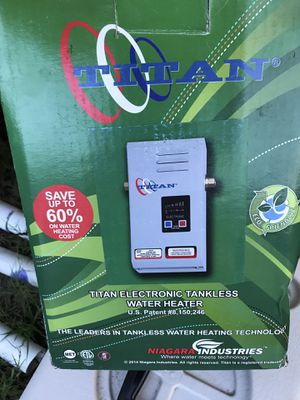 Titán Water Heater N-64 for Sale in Hollywood, FL