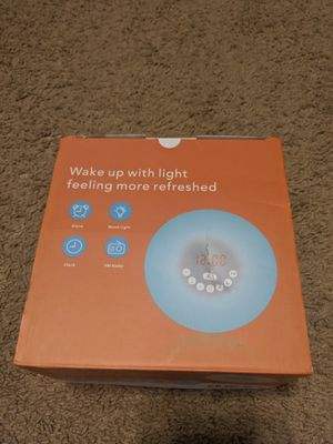 Sunlight Alarm Clock for Sale in Cleveland, OH