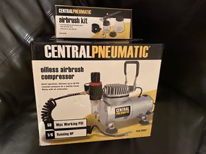 Central Pneumatic AIRBRUSH COMPRESSOR for Sale in Peoria, AZ