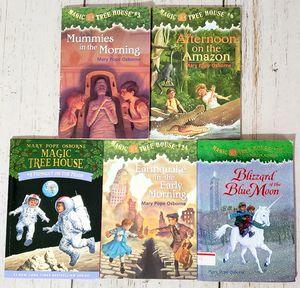 Magic Tree House Lot of 5 Books Mary Pope Osborne #3, 6, 8, 24, 36 Paperback for Sale in Harrisonburg, VA