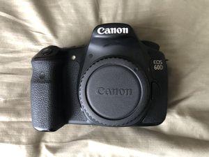 Canon EOS 60D DSLR body for Sale in Murfreesboro, TN