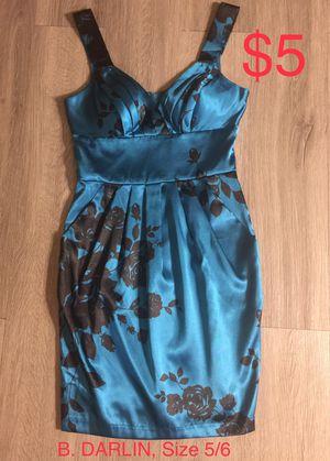 B. DARLIN, Royal Blue & Black Sleeveless Dress, Size 5/6 for Sale in Phoenix, AZ