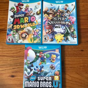 Nintendo Wii U Games (Individually Priced) for Sale in Meriden, CT