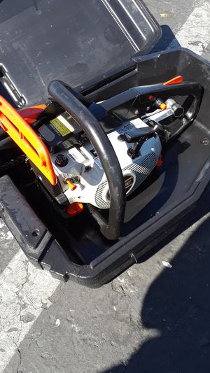Echo gas powered chainsaw CS - 3450 for Sale in Oakland, CA