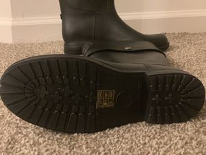 Armani jeans rain boots for Sale in Montgomery, OH