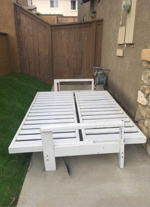 Full bed frame for Sale in Oceanside, CA