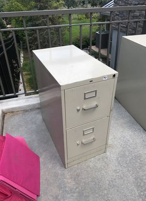 Used two drawer file cabinet for Sale in Salt Lake City, UT