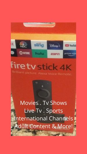 FIRE TV STICK 4K for Sale in Duncanville, TX