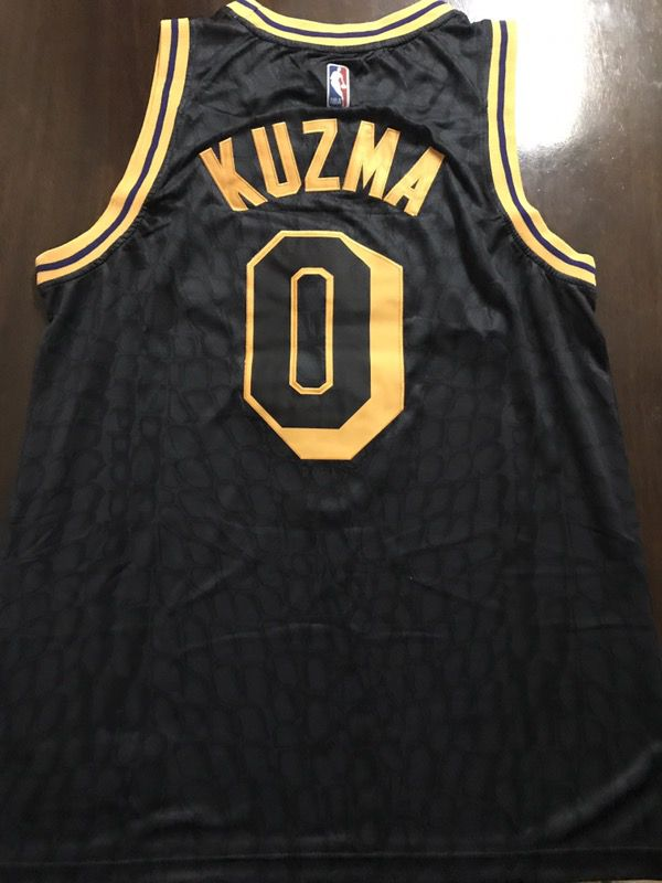 pretty nice 95358 1937e Brand New Kyle Kuzma LA Lakers Los Angeles Black Mamba Style Very Rare  Statement City Nike Jersey Stitched Men Size S, M, L, XL for Sale in Los ...