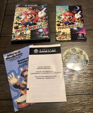 Mario Party 6 (Nintendo GameCube, 2004) Complete - Tested Working! for Sale in Fresno, CA