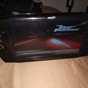 MaXX DIGITAL PORTABLE 8.5 INC DoH TFT LCD/DVD PLAYER for Sale in San Diego, CA