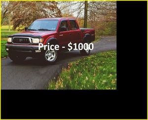 O1 Toyota Tacoma SR5 v6 - ֆ1OOO for Sale in Santa Ana, CA