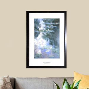 Waterlilies Print With Frame for Sale in Orlando, FL