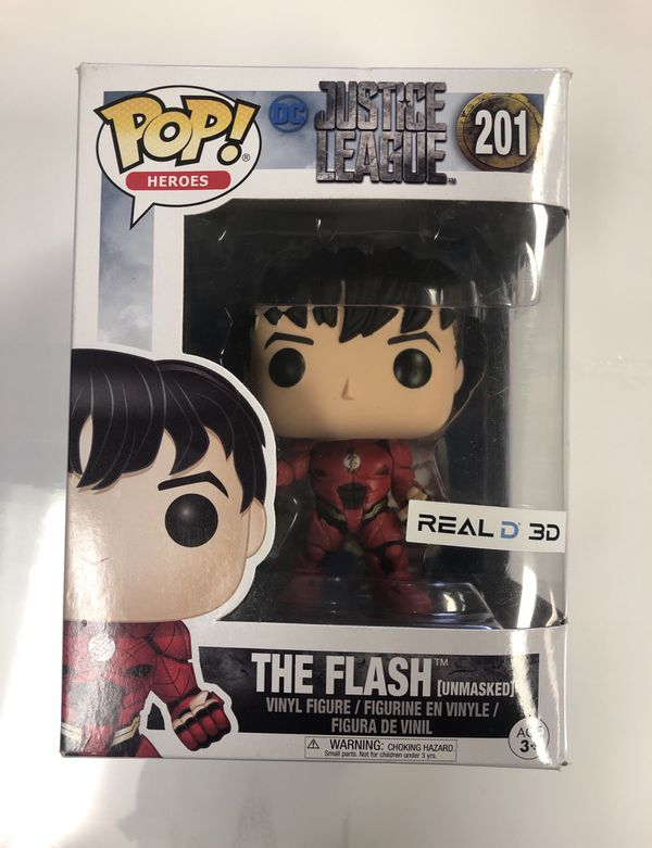 Funko Pop! Justice League Vinyl Figure Collectibles The Flash #201