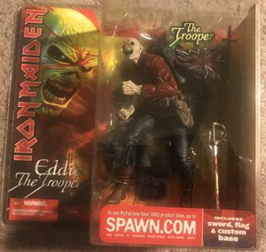 Eddie the Trooper action figure mint rare for Sale in Fullerton, CA