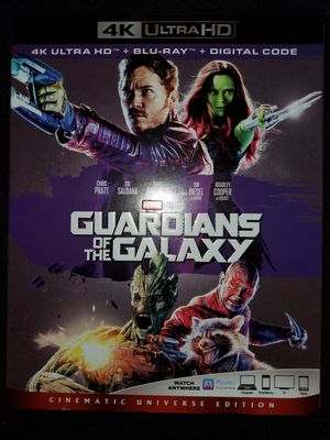 *NEW* Marvel's Guardians of the Galaxy 4K UHD/HDR Bluray for Sale in Spring, TX