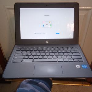 HP 14in 16gb Touchscreen Chromebook for Sale in Plainwell, MI