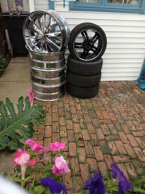 18in black rims for Sale in Detroit, MI