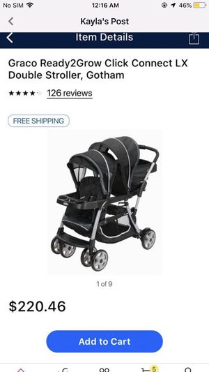 Graco sit and stand double stroller for Sale in Bartow, FL