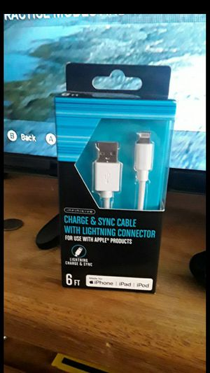 Unopened iphone charger for Sale in Fresno, CA