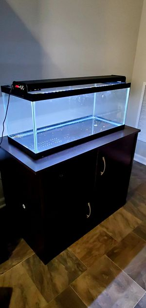 Aquarium with stand and LED for Sale in Aurora, IL