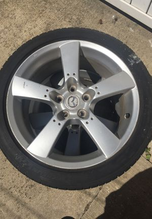Rams and tires225/45/18 for Sale in Melvindale, MI