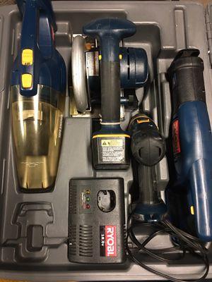 RYOBI Cordless power tool set! for Sale in Des Plaines, IL