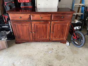 Credenza/dresser solid wood for Sale in Sherwood, OR