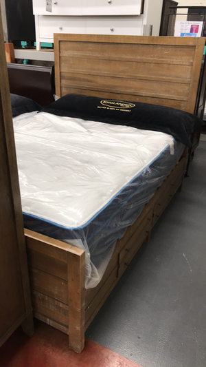 WEEKLY or MONTHLY. Seneca Queen Storage Bed for Sale in Munster, IN