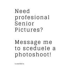 Senior portraits, professional photography for Sale in Grosse Pointe Farms, MI