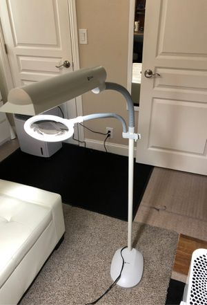 Floor lamp for crafts. By ottlite for Sale in Sunnyvale, CA