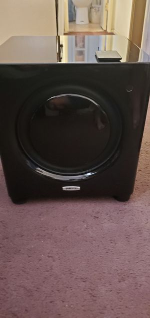 POLK AUDIO DSW Micro Pro 4000 Subwoofer for Sale in Los Angeles, CA