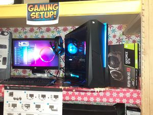 iBUYPOWER- Liquid Cooled Gaming Computer +New 1080p TOUCHSCREEN MONITOR +Gaming Gear for Sale in Kennedale, TX
