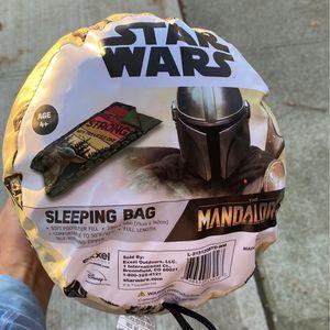 Mandalorian Star Wars sleeping bag for Sale in Everett, WA