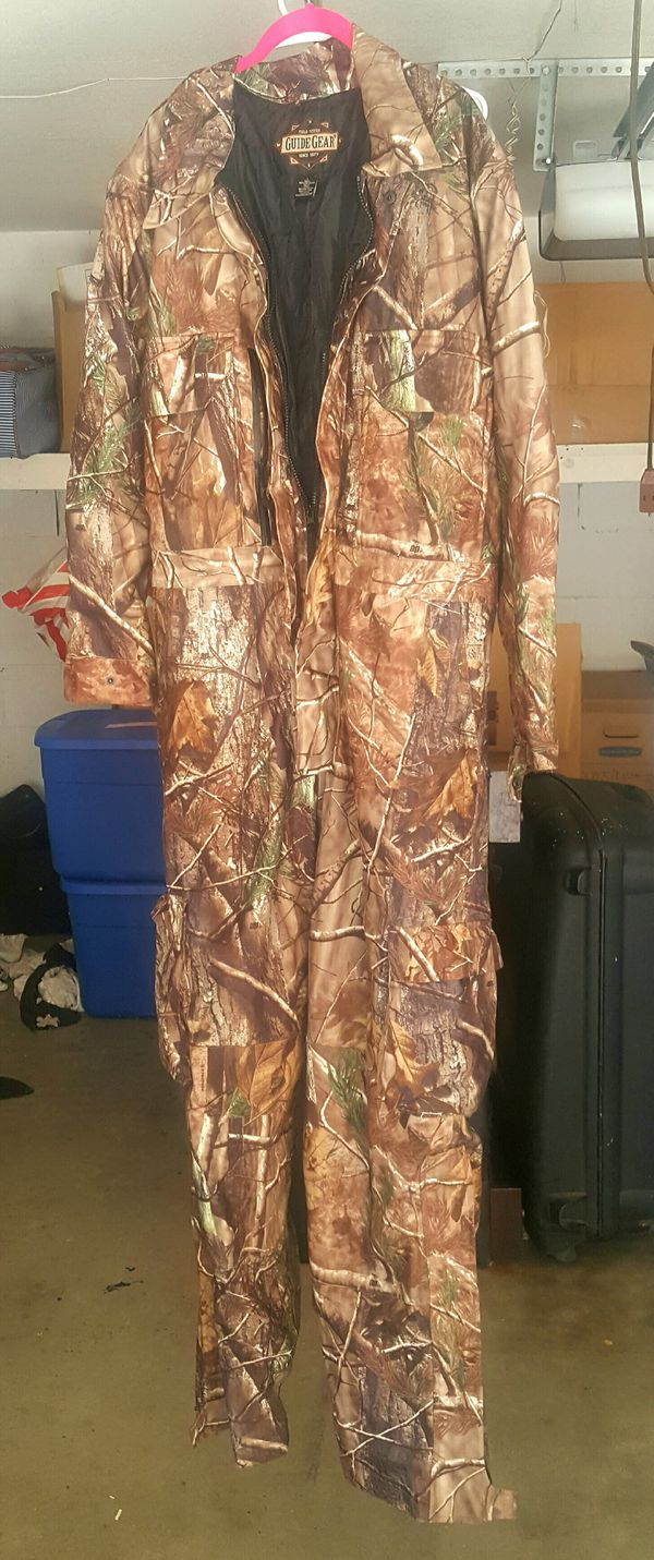 Guide gear hunting coveralls