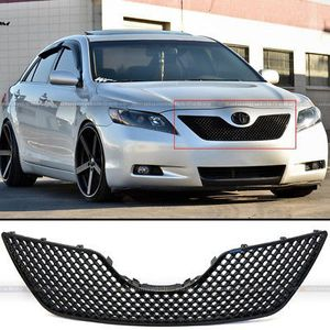 07-09 Camry Honeycomb Glossy Black Bumper Hood 3D Mesh Grill Grill for Sale in Pomona, CA