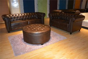 New Brown Chesterfield Sofa Loveseat set 3 pc for Sale in Baltimore, MD