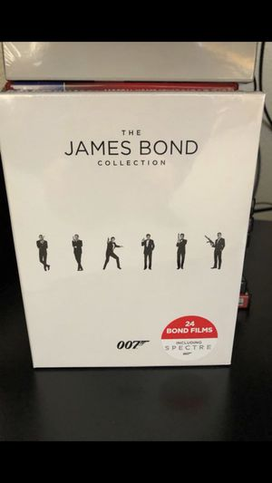 James Bond Blu Ray Full collection for Sale in Gilbert, AZ