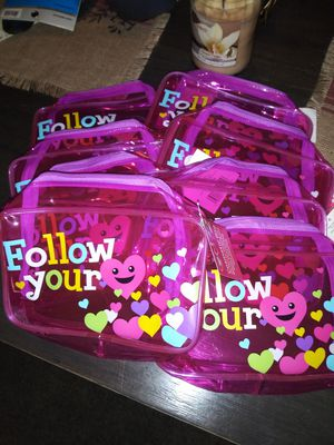 Plastic Follow Your Heart Pencil Bags for Sale in Cleveland, OH