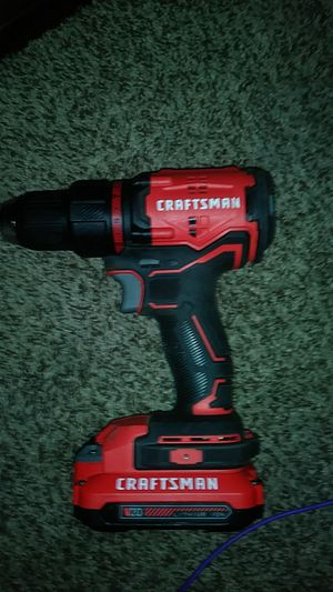 Craftsman 1/2 (13mm) cordless drill driver type 1 20 volt for Sale in Las Vegas, NV