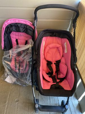 Urbini, Car seat with stroller attached for Sale in Phoenix, AZ