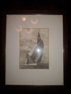 Vintage sailboat picture for Sale in Bakersfield, CA