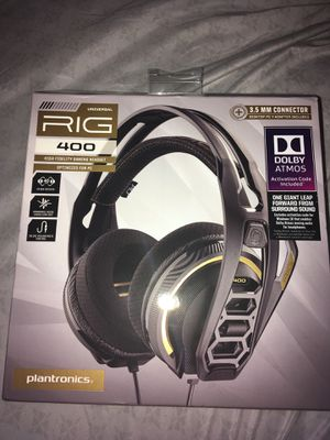 RIG 400 DOLBY ATMOS GAMING HEADPHONES for Sale in Murfreesboro, TN