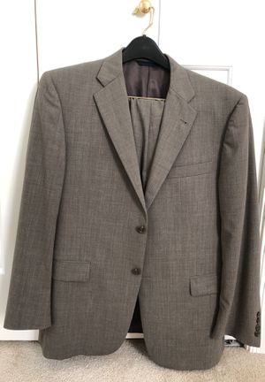 New Burberry Suit-size 42 Gray Color for Sale in Great Falls, VA