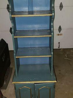 Vintage Book Shelf Display Cabinet for Sale in Irvine,  CA
