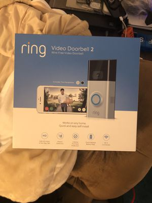 Ring video doorbell 2 for Sale in Fairfax, VA