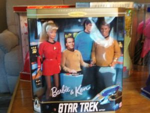 Barbie and Ken star trek set never opened $125 for Sale in Columbus, OH